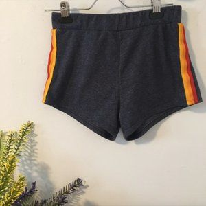 Vintage style sport shorts